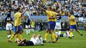 Argentina fica-se pela fase de grupos, após empatar a um golo com a Suécia - Mundial de 2002 (Coreia do Sul e Japão)
